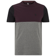 Luke Men's Kayne Crew Neck T-Shirt - Lux Port