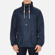 Barbour Men's Hooded Bedale Jacket - Navy