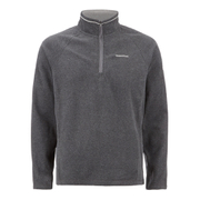 Craghoppers Men's Selby Half Zip Microfleece Jumper - Black Pepper Marl