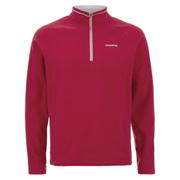 Craghoppers Men's Selby Half Zip Microfleece Jumper - Chilli