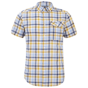 Craghoppers Men's Avery Short Sleeve Shirt - Dusk Blue