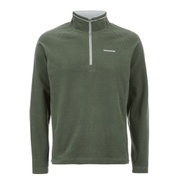 Craghoppers Men's Selby Half Zip Microfleece Jumper - Parka Green