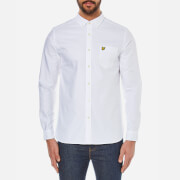 Lyle & Scott Vintage Men's Long Sleeve Oxford Shirt - White
