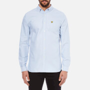 Lyle & Scott Vintage Men's Long Sleeve Oxford Shirt - Riviera Blue