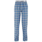 Tokyo Laundry Men's Half Moon Bay Check Lounge Pants - Swedish Blue