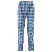 Pantalon à Carreaux Tokyo Laundry Homme Half Moon -Bleu Suédois
