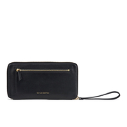 WANT LES ESSENTIELS Women's Liberty Travel Zip Wallet/Passport Cover - Black