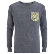 Jack & Jones Men's Originals Boom Pocket Sweatshirt - Navy Blazer