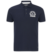 Produkt Men's Embroidered Polo Shirt - Navy Blazer
