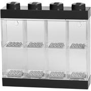 LEGO Display Case für 8 Minifiguren - Schwarz