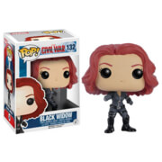Marvel Captain America Civil War Black Widow Figurine Funko Pop!