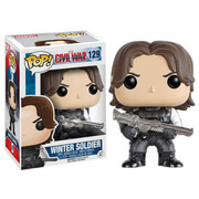 Marvel Captain America Civil War Winter Soldier Funko Pop! Vinyl Figur