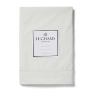 Highams 100% Egyptian Cotton Pillowcase - Cream