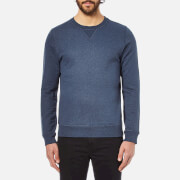 A.P.C. Men's Sweat Hyde Park Sweatshirt - Marine Chine