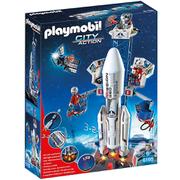 Base de lancement avec fusée -Playmobil (6195)