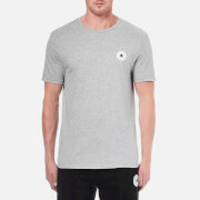 Converse Men's Left-Chest CP Crew T-Shirt - Vintage Grey Heather