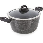 Tower T81272 Forged Casserole Dish - Graphite - 24cm
