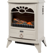 Warmlite WL46014BA/MOB Stove Fire - Cream - 2000W