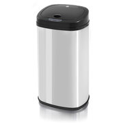 Swan SWKA4200SSN Square Sensor Bin - Polished Stainless Steel - 42L