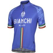 Bianchi Men's Sado Short Sleeve Jersey - Blue