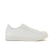 Crosshatch Men's Reptile Low Top Trainers - White