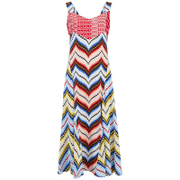 KENZO Women's Multi Print Dress - Multi