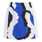 KENZO Women's Printed Skirt - Blue