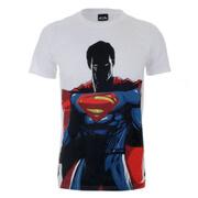DC Comics Batman vs. Superman Herren T-Shirt - Weiss