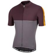 Nalini Mantova Short Sleeve Jersey - Red/Grey