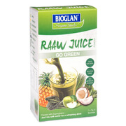 Bioglan Raaw Juice Go Green - 7x7g