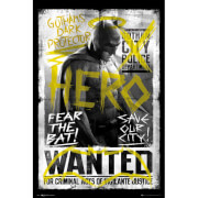 DC Comics Batman v Superman Dawn of Justice Batman Wanted - 24 x 36 Inches Maxi Poster