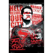 DC Comics Batman v Superman Dawn of Justice Superman False God - 24 x 36 Inches Maxi Poster