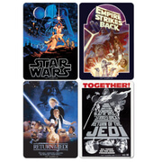 Star Wars Film Poster Coasters (Set of 4)