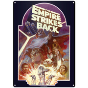 Star Wars Empire Strikes Back Small Tin Sign