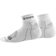 Skins Cycle Quarter Length Socks - White