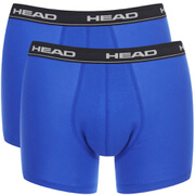 Lot de 2 Boxers Head - Bleu / Noir