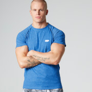 Myprotein Men's Performance Raglan Sleeve T-Shirt - Blue