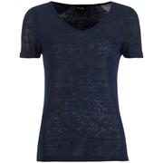 VILA Women's Visumi T-Shirt - Total Eclipse