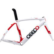 Ceepo Venom Time Trial Frameset - White/Red