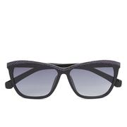 Calvin Klein Jeans Unisex Wayfarer Sunglasses - Black/Purple
