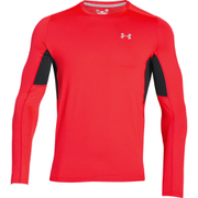 Under Armour Men's CoolSwitch Run Long Sleeve Top - Red