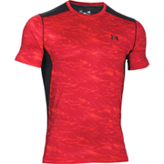 Under Armour Men's Raid Short Sleeve T-Shirt - Red/Black