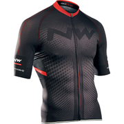 Northwave Extreme Full Zip Short Sleeve Jersey - Black