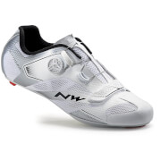 Northwave Men's Sonic 2 Plus Cycling Shoes - White/Silver
