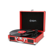 ION Audio Vinyl Portable USB Turntable - Red