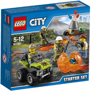 LEGO City: Vulkan Starter-Set (60120)