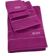 Hugo BOSS Plain Towel Range - Azalea