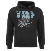 Sweat à Capuche Homme - Star Wars Falcon - Noir