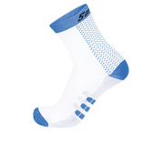 Santini Two Medium Profile Socks - Blue