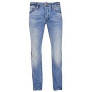 Jack & Jones Men's Originals Mike Straight Fit Jeans - Light Wash